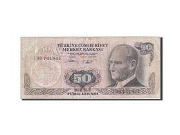 Turquie, 50 Lira, 1971-1982, KM:188, 1976, B+ - Turquie