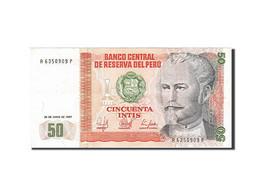 Peru, 50 Intis, 1985-1991, KM:131b, 1987-06-26, SPL - Pérou