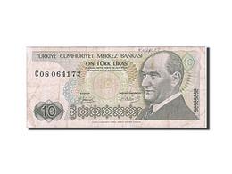 Turquie, 10 Lira, 1984-1997, KM:192, 1979, TB - Turquie