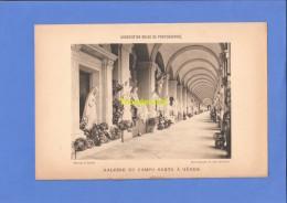 GALERIE DU CAMPO SANTO A GENES PISA DETAILLE OTTO DUSSELDORF ** ASSOCIATION BELGE DE PHOTOGRAPHIE PHOTOTYPE PHOTOTYPIE - Reproductions