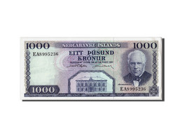 Iceland, 1000 Kronur, L.1961, KM:46a, Non Daté, SPL - Islande