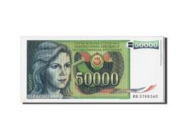 Yougoslavie, 50,000 Dinara, 1988, KM:96, 1988-05-01, SPL - Yugoslavia