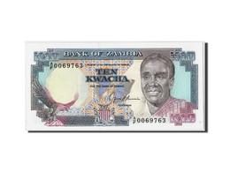 Zambie, 10 Kwacha, Non Daté (1989-91), KM:31b, Non Daté, NEUF - Zambie