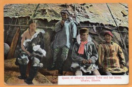 Queen Of Siberian Eskimo Tribe Whalen Siberia 1909 Postcard - Europe