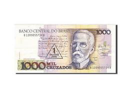 Brésil, 1 Cruzado Novo On 1000 Cruzados, 1989, KM:216b, 1989, SUP+ - Brésil