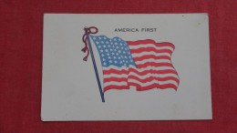 US Flag  America First =  2097 - Patriotiques