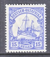 GERMANY  EAST  AFRICA  34   *   Wmk. - Colony: German East Africa