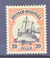 GERMANY  EAST  AFRICA  35   *   Wmk. - Colony: German East Africa