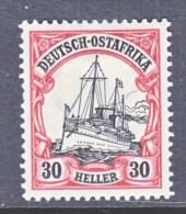 GERMANY  EAST  AFRICA  36   *   Wmk. - Colony: German East Africa