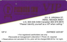 Pioneer Inn Casino Reno NV - 1997 VIP Card   ...[RSC]... - Casino Cards