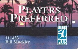 Players Island Casino Mesquite NV - 3rd Issue 50 Plus Slot Card - Casino Cards