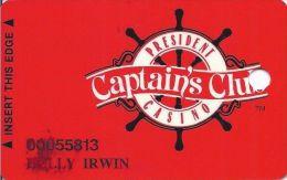President Casino Davenport IA - 5th Issue Slot Card   ...[RSC]... - Casino Cards