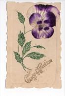 Gage D´affection / Pensée / Gaufrée + Tissu - Mignon De Epernay - 1906 - Andere