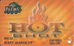 Palms Casino Las Vegas - Hot Shot Card Expires 3/31/04 - Casino Cards