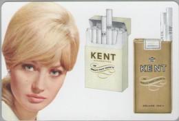 Calendrier Petit Format - Cigarette Kent - 1969 - Calendars