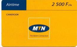 @+ Recharge MTN Du Cameroun (2500 FCFA) - Cameroun