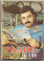 Radio Journal  № 1 For 1989 - Monthly Radio Engineering Journal In Russian. - Literature & Schemes