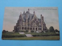 """ CRAIGDARROCK "" The Residence Of Mrs. Robert Dunsmuir Victoria British Columbia 1908 ( Zie Foto´s Voor Detail ) ! - Colombie"