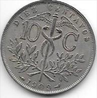 Bolivia 10 Centavos 1909 Km174.3 - Bolivie