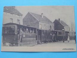 CVP (8) Van Erps JP VERKIEZINGEN - Anno 19?? Zicht Tram/Trein KRAAINEN ( Kreuk Rechtsboven / Zie Foto´s Voor Detail ) ! - Kraainem