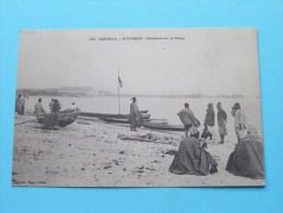 Pécheurs Sur La Plage ( 151 ) Anno 19?? ( Zie Foto´s Voor Detail ) ! - Sénégal