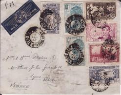 Lettre De CÔTE D´IVOIRE - Cachet De BOBO DIOULASSO 1942 - Côte-d'Ivoire (1892-1944)