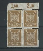 WEIMAR - YVERT N° 348 BLOC DE 4 ** - - Deutschland