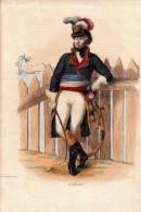 1840 - Gravure Sur Cuivre - Jean-Baptiste Kléber (Strasbourg 1753 - Le Caire 1800) - FRANCO DE PORT - Estampas & Grabados