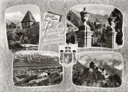 Gruß Aus Vaduz - Fürstentum Liechtenstein Mehrbildkarte 1962 - Liechtenstein