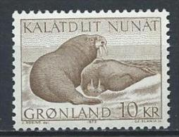 Groënland 1973 N°71 Neuf Morses - Greenland