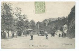 MCS1- MONACO  Place D´Armes - Animée Tram - La Condamine