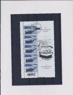 Belgie - Belgique 3880 Velletje Van 5 Postfris - Feuillet De 5 Timbres Neufs  - Bovenste Zegel Gestempeld - Feuilles Complètes