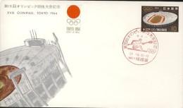 Japon 1964 Jeux Olympiques De Tokyo : Canoe - Summer 1964: Tokyo