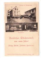 ALLEMAGNE - Carte De Voeux - NOUVEL AN 1901 - Fabricant De Meubles Philipp Merkel, DALSHEIM - Très Bon état - Allemagne