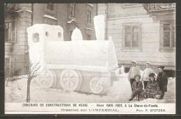Carte Postale ( Concours De Neige / La Chaux-de-Fonds ) - NE Neuchâtel