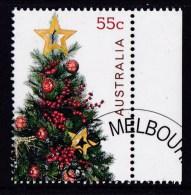 Australia 2011 Christmas 55c Tree CTO - - - 2010-... Elizabeth II