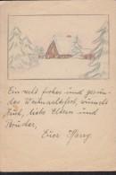 DR: Feldpostkarte Zum Weihnachtsfest 1944 Aus Russland Von Harry Mohr Ohne Anschrift/Absender (ehem. Im Brief Inliegend) - Deutschland
