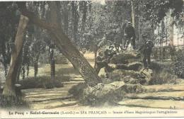 78  LE  PECQ   SAINT  GERMAIN   SPA  FRANCAIS  SOURCE    D  EAUX  MAGNESIAQUES  FERRUGINEUSES - Le Pecq