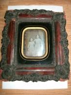 DAGUERREOTYPE 2 PERSONNAGES 1850 - Photos
