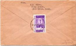 Postal History Cover: Malaysia - Malayan Postal Union