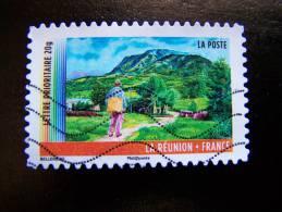 OBLITERE FRANCE ANNEE 2011 N° 643 SERIE DU CARNET OUTRE MER  LA REUNION AUTOCOLLANT ADHESIF - France