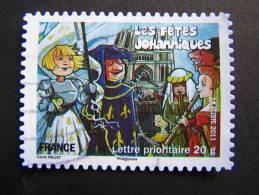 OBLITERE FRANCE ANNEE 2011 N°580 FETES ET TRADITIONS DE NOS REGIONS FETES JOHANNIQUES DE REIMS CHAMPAGNE ARDENNE - France