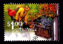 Australia 2005 Wine - Vineyards $1 Picking Grapes Used - 2000-09 Elizabeth II