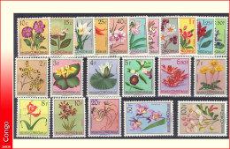 Congo 0302/23* Fleurs du Congo - MH