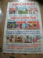 AFFICHE LE SECOURS NATIONAL SIGNE MARIANNE CLOUZOT 120X80CM - Affiches