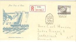FDC 1959 REGISTERED LOHJA - FDC