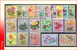 Congo 0302/23** Fleurs du Congo - MNH - Luxe !!! Cote 85