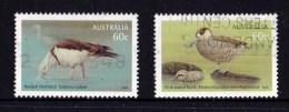 Australia 2012 Waterbirds 60c Pair Used - 2010-... Elizabeth II