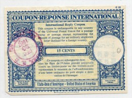 1967 - COUPON REPONSE INTERNATIONAL - Documents Historiques