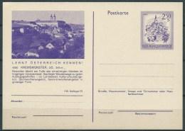 B.15. DEC.077 .  BLANCO  BR.KAART VAN OOSTENRIJK.. 1974. LERNT ÖSTERREICH KENNEN.  KREMSMÜNSTER. - 1945-.... 2. Republik